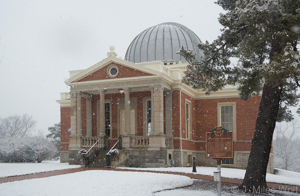 Cincinnati Observatory Winter
