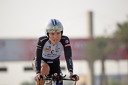 Emilie Moberg (Hitec Products) at the 40 km Women's Team Time Trial, UCI Road World Championships 2016 on 9th October 2016 in Doha, Qatar. (Photo by Sean Robinson/Velofocus).