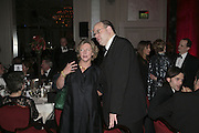Rosie Boycott and Mark Lawson,  Costa Book Awards 2006. Grosvenor House Ballroom. Park Lane, London. 7 February 2007. -DO NOT ARCHIVE-© Copyright Photograph by Dafydd Jones. 248 Clapham Rd. London SW9 0PZ. Tel 0207 820 0771. www.dafjones.com.