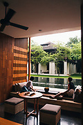 View of former Britsh Consul's residence at the Anantara Chiang Mai Resort & Spa