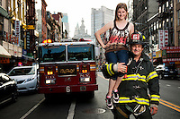 Keith remains with Ladder 6 in Chinatown and is now fire chief.