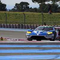 #66, Ford GT, Ford Chip Ganassi Team UK, driven by Billy Johnson, Stefan Mucke, Olivier Pla, FIA WEC Prologue Circuit Paul Ricard, 26/03/2016,