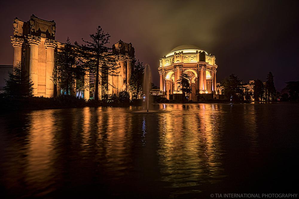 Palace of Fine Arts @ Night