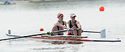 Eton, United Kingdom.  Bow Leonora KENNEDY and Zoe LEE, competing in the Women's Pair  Sat. time trial.  2011 GBRowing Trials, Dorney Lake. Saturday  16/04/2011  [Mandatory Credit; Peter Spurrier/Intersport-images] Venue For 2012 Olympic Regatta and Flat Water Canoe events.
