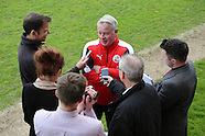 Crawley Town FC Manager Dermot Drummy  28/04/2016