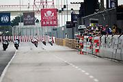 November 16-20, 2016: Macau Grand Prix. Racing action during the 50th Macau Moto GP
