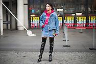 Nicoleta Illiescu at Vetements FW2017