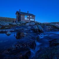 Blue hour Gullhorgabu