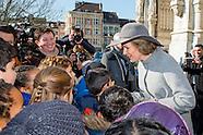 Koning Filip en de Koningin Mathilde wonen de jaarlijkse eucharistieviering bij ter nagedachtenis