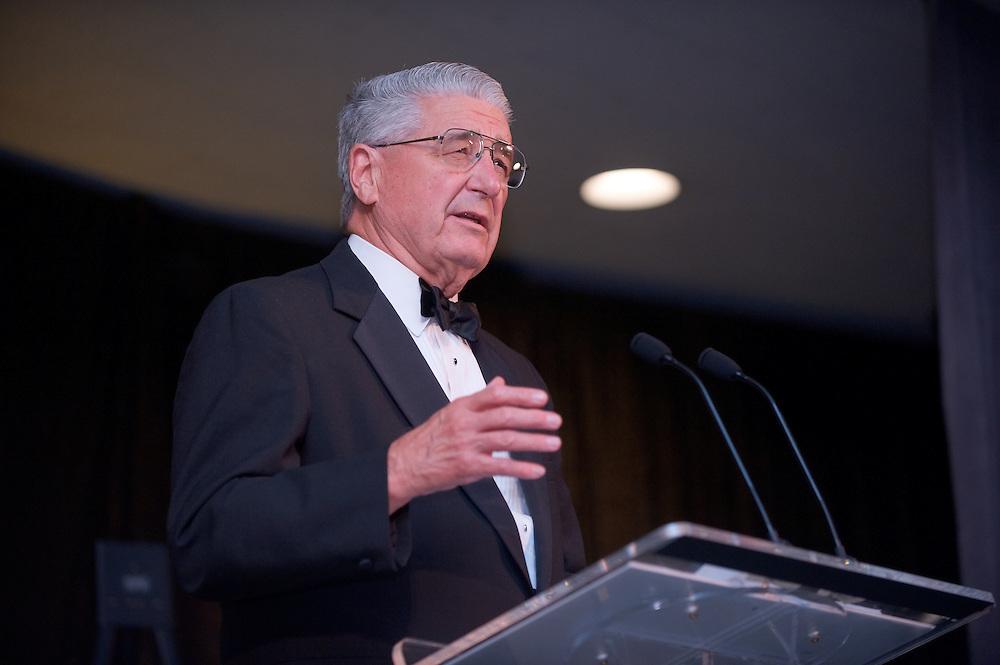 Homecoming 2008: Alumni Awards Gala 9/26/2008...R. Budd Werner, BSCOM'53 (Distinguished Service Award)