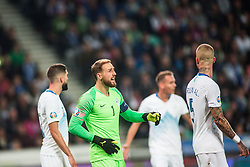 OBLAK Jan of Slovenia during the 2020 UEFA European Championships group G qualifying match between Slovenia and Austria at SRC Stozice on October 13, 2019 in Ljubljana, Slovenia. Photo by Peter Podobnik / Sportida