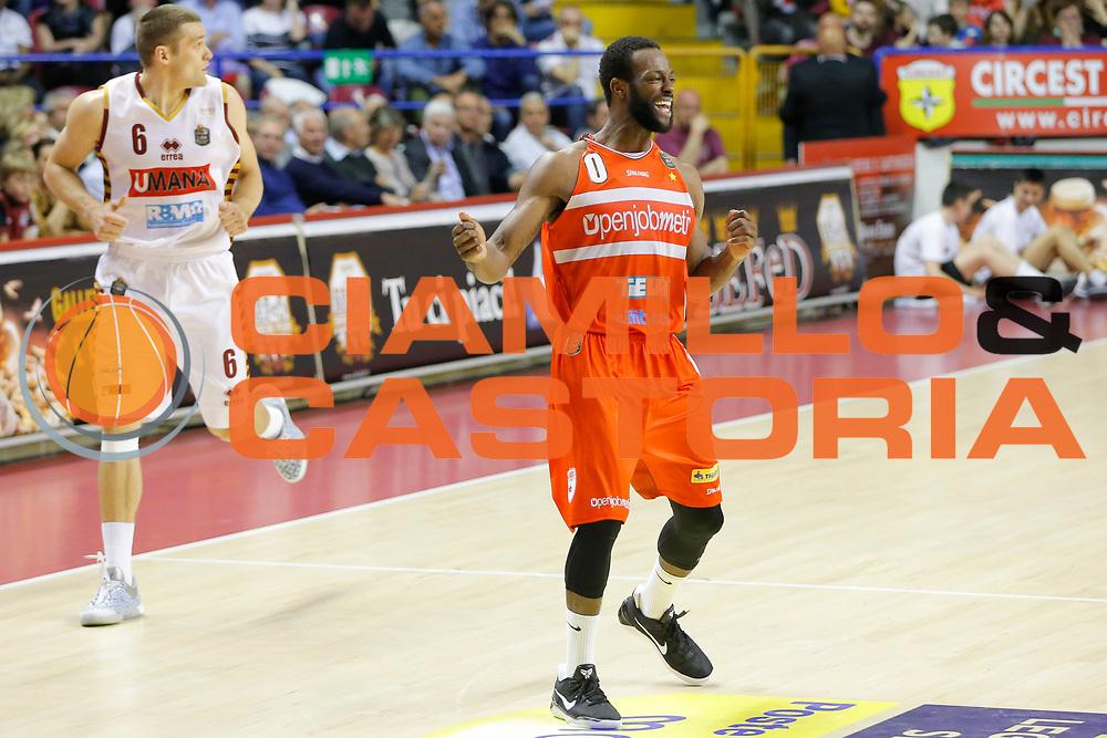 Dominique Johnson<br /> Umana Reyer Venezia - Openjobmetis Varese<br /> Lega Basket Serie A 2016/2017<br /> Venezia 23/04/2017<br /> Foto Ciamillo-Castoria