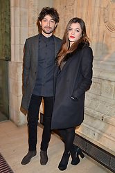 ALEX ZANE and LORENA MANCINI at the opening night of Cirque du Soleil's award-winning production of Quidam at the Royal Albert Hall, London on 7th January 2014.