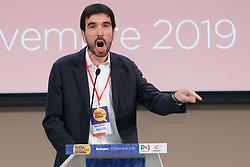 Foto LaPresse/Filippo Rubin<br /> 17/11/2019 Bologna (Italia)<br /> Cronaca Politica<br /> Assemblea Pd a Bologna - Eataly Fico Bologna<br /> Nella foto: MAURIZIO MARTINA<br /> <br /> Photo LaPresse/Filippo Rubin<br /> November 17th, 2019 Bologna (Italy)<br /> Politics<br /> PD meeting - Fico Eataly World Bologna <br /> In the pic: MAURIZIO MARTINA