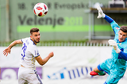 Jan Mlakar of NK Maribor during football match between NK Rudar Velenje and Maribor in 1st Round of Prva liga Telekom Slovenije 2018/19, on July 22, 2018 in Mestni stadion ob Jezeru, Velenje , Slovenia. Photo by Ziga Zupan / Sportida