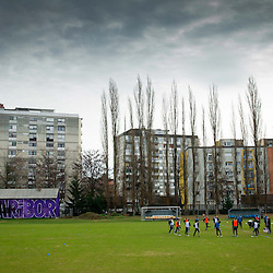 20140104: SLO, Football - Practice session of NK Maribor