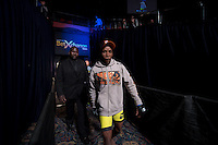 JOHANNESBURG, SOUTH AFRICA - MAY 13:      Bill Thusi during EFC 49 Fight Night at the Big Top Arena, Carnival City, Johannesburg, South Africa on May 13, 2016. (Photo by Anton Geyser/ EFC Worldwide)