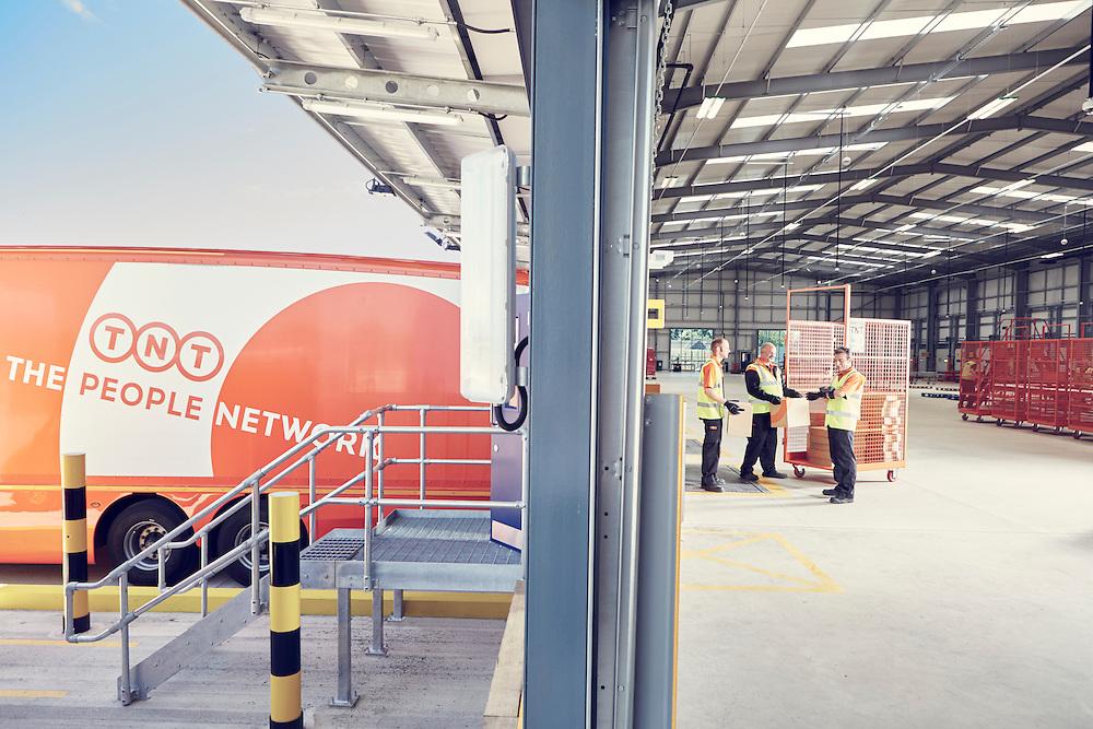 TNT Swindon Depot Magazine Photo Shoot