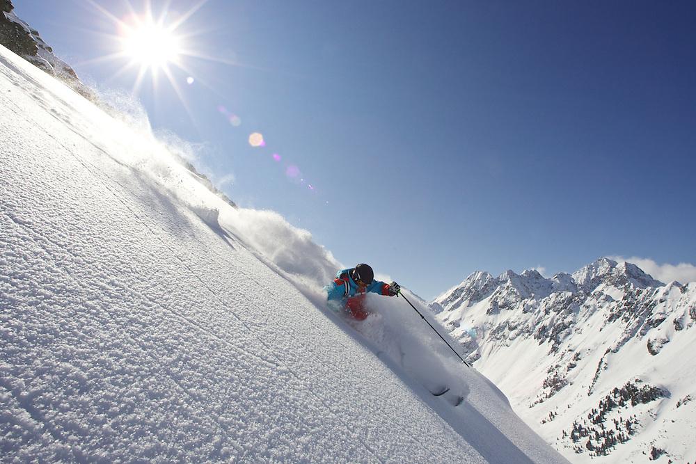 Ski Test, Kuhtai, Tirol, Austria 2012