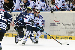 06.01.2015, Saturn Arena, Ingolstadt, GER, DEL, ERC Ingolstadt vs Iserlohn Roosters, 36. Runde, im Bild Chris Connolly (Nr.12, Iserlohn Roosters) // during Germans DEL Icehockey League 36th round match between ERC Ingolstadt and Iserlohn Roosters at the Saturn Arena in Ingolstadt, Germany on 2015/01/06. EXPA Pictures © 2015, PhotoCredit: EXPA/ Eibner-Pressefoto/ Strisch<br /> <br /> *****ATTENTION - OUT of GER*****