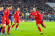 Bayern Munich midfielder Thiago Alcántara (6) on the ball during the Champions League match between Bayern Munich and Tottenham Hotspur at Allianz Arena, Munich, Germany on 11 December 2019.