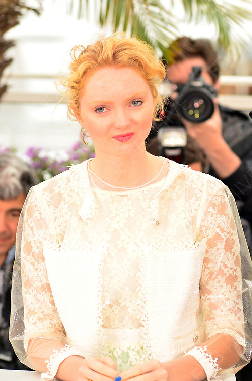 20.MAY.2012. CANNES<br /> <br /> LILY COLE AT THE 'CONFESSION OF A CHILD OF THE CENTURY' PHOTOCALL AT THE 65TH CANNES FILM FESTIVAL IN CANNES, FRANCE.<br /> <br /> BYLINE: EDBIMAGEARCHIVE.COM<br /> <br /> *THIS IMAGE IS STRICTLY FOR UK NEWSPAPERS AND MAGAZINES ONLY*<br /> *FOR WORLD WIDE SALES AND WEB USE PLEASE CONTACT EDBIMAGEARCHIVE - 0208 954 5968*