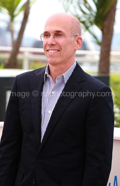 Jeffrey Katzenberg at the photocall for the film How to Train Your Dragon 2 at the 67th Cannes Film Festival, Friday 16th May 2014, Cannes, France.