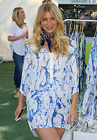 Olivia Newman-Young, Raffles vs Bodos Cricket Invitational and Summer Party, Burton's Court Chelsea, London UK, 14 August 2016, Photo by Brett D. Cove
