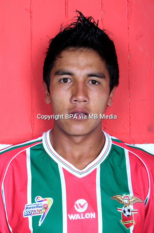 Colombia League - Postobom Liga 2014-2015 -<br /> Patriotas Futbol Club  - Colombia / <br /> Cesar Granados
