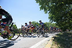 Alice Arzuffi and Lisa Klein on Stage 4 of the Giro Rosa - a 118 km road race, starting and finishing in Occhiobello on July 3, 2017, in Rovigo, Italy. (Photo by Sean Robinson/Velofocus.com)