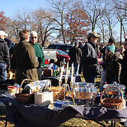 Supporters tailgating before the Yale V Harvard, Ivy League Football match at Yale Bowl. Harvard won the game 34-7 giving Harvard a share of the 2013 Ivy League title.  The game was the 130th meeting between Harvard and Yale in the historic rivalry that dates back to 1875. New Haven, Connecticut, USA. 23rd November 2013. Photo Tim Clayton