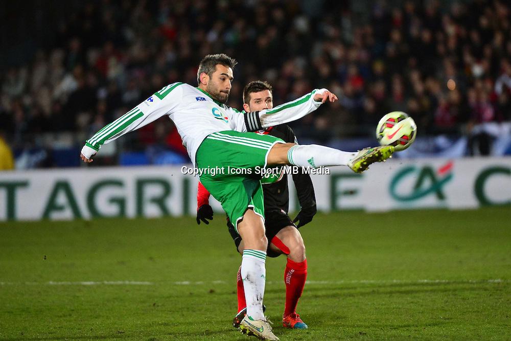 Loic PERRIN  - 03.03.2015 - Boulogne / Saint Etienne - 1/4Finale Coupe de France<br />Photo : Dave Winter / Icon Sport