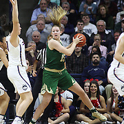 STORRS, CONNECTICUT- NOVEMBER 17: Lauren Cox #15 of the Baylor Bears in action during the UConn Huskies Vs Baylor Bears NCAA Women's Basketball game at Gampel Pavilion, on November 17th, 2016 in Storrs, Connecticut. (Photo by Tim Clayton/Corbis via Getty Images)