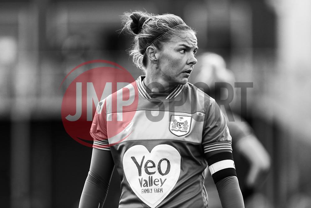 Loren Dykes of Bristol City - Mandatory by-line: Ryan Hiscott/JMP - 14/10/2018 - FOOTBALL - Stoke Gifford Stadium - Bristol, England - Bristol City Women v Birmingham City Women - FA Women's Super League 1