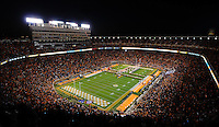 October 29, 2011: The University of Tennessee's  Neyland Stadium before a game against South Carolina in Knoxville, Tenn.