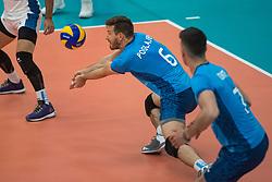 08-09-2018 NED: Netherlands - Argentina, Ede<br /> Second match of Gelderland Cup / Cristian Gabriel Poglajen #6 of Argentina