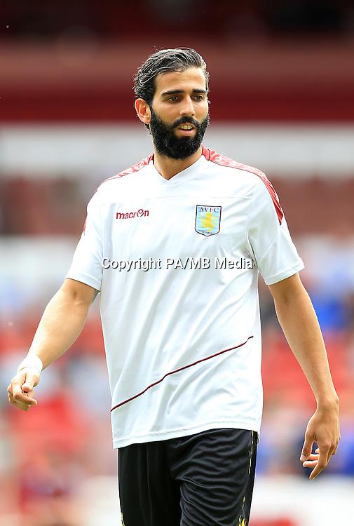 Jose Angel Crespo, Aston Villa.