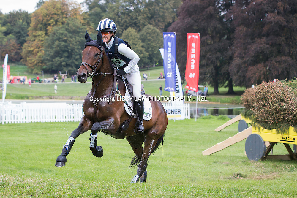 NZL-Caroline Powell (SPICE SENSATION) FINAL-36TH: CIC3* 8&9YO: CROSS COUNTRY: 2014 GBR-Blenheim Palace International Horse Trial (Sunday 14 September) CREDIT: Libby Law COPYRIGHT: LIBBY LAW PHOTOGRAPHY - NZL