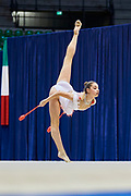 "Veronika Hudis of Azerbaijan Team during the ""7th tournament city of Desio"", 09 March 2019."
