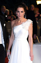 The Duchess of Cambridge attending the 72nd British Academy Film Awards held at the Royal Albert Hall, Kensington Gore, Kensington, London