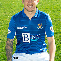 St Johnstone FC…Season 2019-20<br />Danny Swanson<br />Picture by Graeme Hart.<br />Copyright Perthshire Picture Agency<br />Tel: 01738 623350  Mobile: 07990 594431