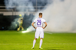 Jan Mlakar of NK Maribor during a football game between NK Olimpija Ljubljana and NK Maribor in Final Round (18/19)  of Pokal Slovenije 2018/19, on 30th of May, 2014 in Arena Z'dezele, Ljubljana, Slovenia. Photo by Matic Ritonja / Sportida