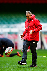 Rob Howley during the training session - Photo mandatory by-line: Ryan Hiscott/JMP - 29/10/2018 - RUGBY - Principality Stadium - Cardiff, Wales - Autumn Series - Wales Rugby Open Training Session