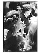 Margaret Duchess of Argyll. 1986 approx. © Copyright Photograph by Dafydd Jones 66 Stockwell Park Rd. London SW9 0DA Tel 020 7733 0108 www.dafjones.com