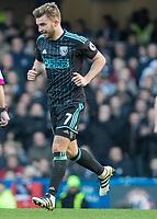 Football - 2016 / 2017 Premier League - Chelsea vs. West Bromwich Albion<br /> <br /> James Morrison of West Bromwich Albion at Stamford Bridge.<br /> <br /> COLORSPORT/DANIEL BEARHAM