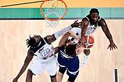 NIKON Z 6 • VR 300mm f/4<br /> f/4.5 • ISO 2500 • 1/800<br /> <br /> Stefano Mancinelli <br /> Happy Casa Brindisi - Pompea Fortitudo Bologna <br /> LBA Final Eight 2020 Zurich Connect - Semifinale<br /> Basket Serie A LBA 2019/2020<br /> Pesaro, Italia - 15 February 2020<br /> Foto Mattia Ozbot / CiamilloCastoria
