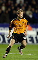 Photo: Glyn Thomas.<br />Wolverhampton Wanderers v Manchester United. The FA Cup. 29/01/2006.<br /> Wolves' Tomasz Frankowski makes his debut.