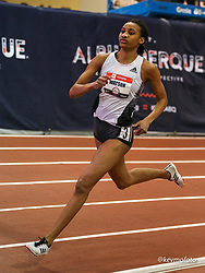 2020 USATF Indoor Championship<br /> Albuquerque, NM 2020-02-15<br /> photo credit: © 2020 Kevin Morris<br /> womens 800m, adidas