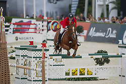 Ward Mclain (USA) - Rothchild<br /> Team consolation competition<br /> Furusiyya FEI Nations Cup Jumping Final<br /> CSIO Barcelona 2013<br /> © Dirk Caremans