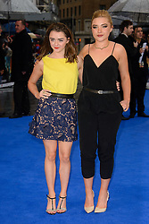 Maisie Williams attends the UK premiere for X-Men: Days of Future Past. Odeon, London, United Kingdom. Monday, 12th May 2014. Picture by Chris Joseph / i-Images